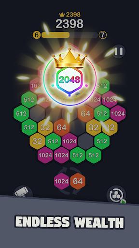 2048 Hexagon Puzzle  screenshots 5