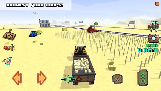 Blocky Farm Racing & Simulator MOD APK (Unlimited Money) 4