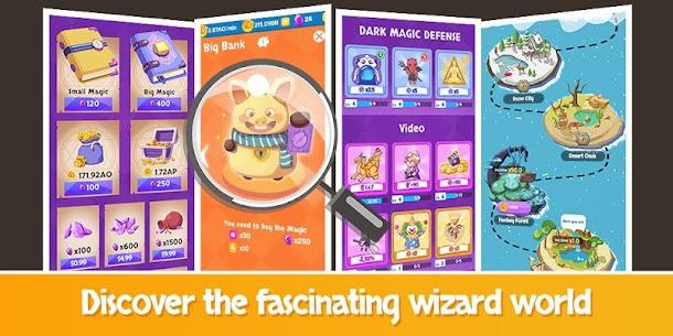 Idle Wizard School – Wizards Assemble Mod Apk 1.9.2 (Unlimited Gold Coins/Diamonds) 4