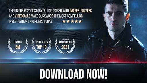 Duskwood - Crime & Investigation Detective Story Apkfinish screenshots 10