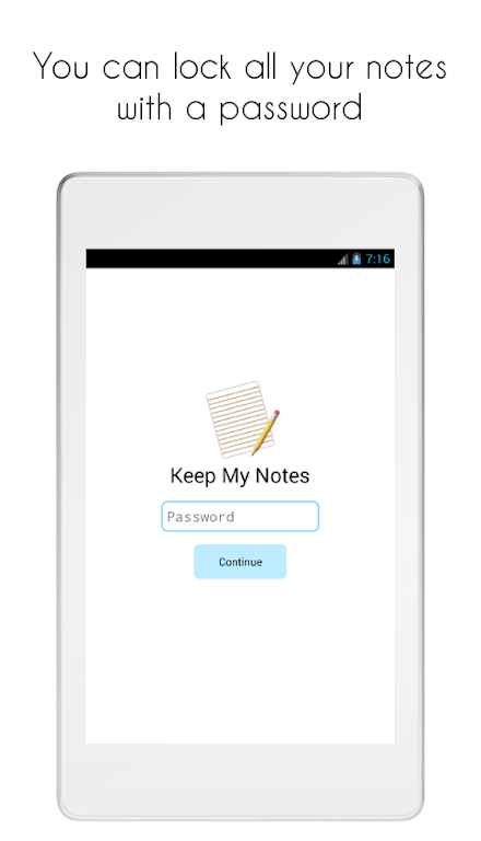 Keep My Notes - Notepad, Memo and Checklist  poster 19