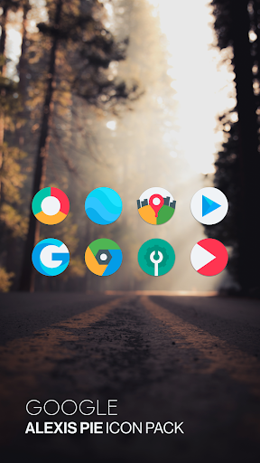 Download APK: Alexis Pie Icon Pack – Clean and Minimalistic v10.9 [Patched]