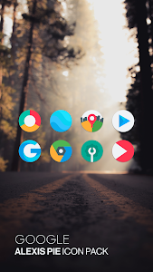 Alexis Pie Icon Pack: Clean and Minimalistic 11.0 (Patched)