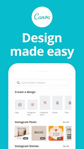 Canva: Graphic Design, Video Collage, Logo Maker screenshots 1