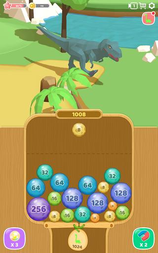Dino 2048: Merge Jurassic World 1.0.9 screenshots 15