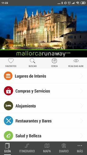 mallorca runaway travel guide screenshot 1