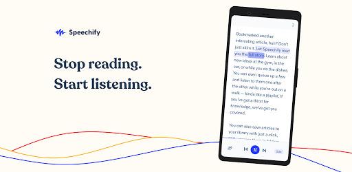 Speechify - #1 Text-To-Speech Versi 1.3.4