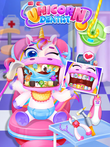 Unicorn Dentist - Rainbow Pony Beauty Salon 1.4 screenshots 1