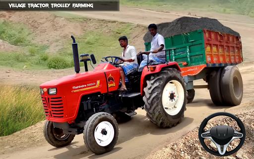 New Tractor trolley Farming Cargo Driver 3D  screenshots 2