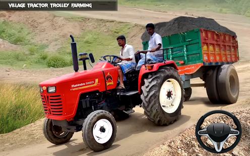New Tractor trolley Farming Cargo Driver 3D 1.0.6 screenshots 2