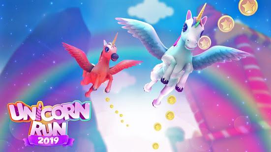 Unicorn Runner 2021: Running Game. Magic Adventure