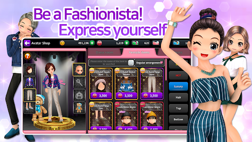 Audition M - K-pop, Fashion, Dance and Music Game  screenshots 2