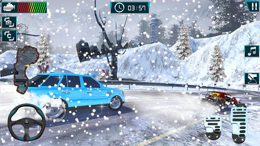 Real Car Drifting 2019:Snow Car Drift & Car Racing Apkfinish screenshots 3