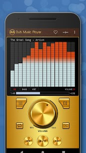 Dub Music Player – Free Audio Player, Equalizer 🎧 4