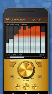 Dub Music Player - Free Audio Player, Equalizer ud83cudfa7 5.2 Screenshots 4