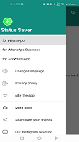 screenshot of Whatso: Status Downloader for WhatsApp status