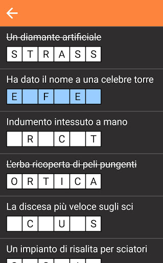 Cruciverba gratis Italiano 2.0.0 screenshots 3
