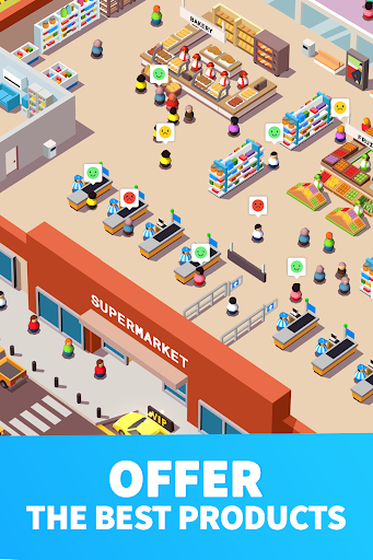 Idle Supermarket Tycoon - Tiny Shop Game 2.3.1 screenshots 5