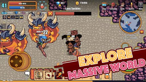 Pixel Knights Online 2D MMORPG MMO RPG 1.31 screenshots 1