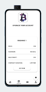 Bitcoin Glaxy – Start Bitcoin Cloud Minning For Android 1