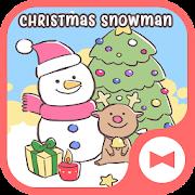 Holiday Wallpaper Christmas Snowman Theme