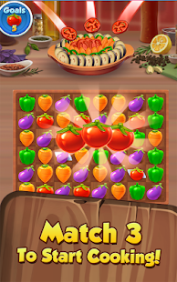 Yummy Drop! - A Free Match 3 Puzzle Cooking Game Screenshot