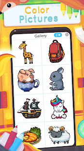 Animal Color by Number - Free coloring book