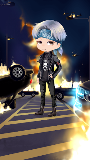 BTS Chibi Dress-up Game!!! u2605Dress the starsu2605 Apkfinish screenshots 2