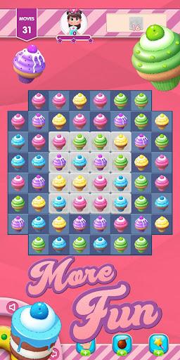 Kwazy Cupcakes : Free Match 3 Puzzle Game 3.8.0 screenshots 10
