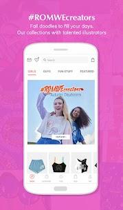 ROMWE -Online Fashion Store Apk 5