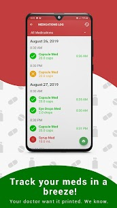 Medica: Medication Reminder, Pill Tracker & Refill (PREMIUM) 8.1.1 Apk 4