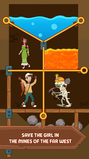Pull Him Up: Brain Hack Out Puzzle game  screenshots 2