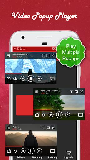 video popup player :multiple video popups screenshot 1