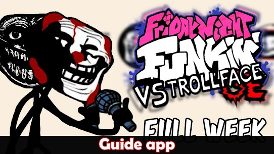 Trollface Friday Night Guide Apk Download 2021 4