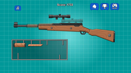 Assemble Toy Gun Sniper Rifle 2.0 screenshots 1