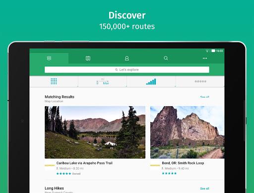 ViewRanger: Trail Maps for Hiking, Biking, Skiing apktram screenshots 3