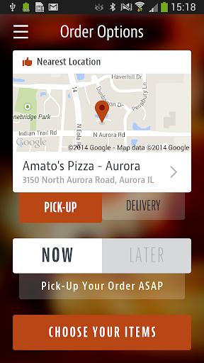 Amato's Pizza - Aurora ss2