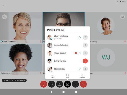 Cisco Webex Meetings 40.8.1 Screenshots 9