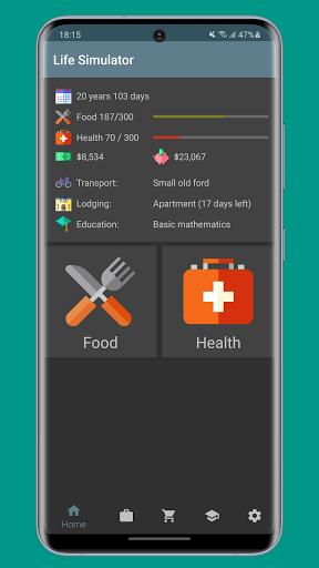 Life Simulator 0.12.0 screenshots 2