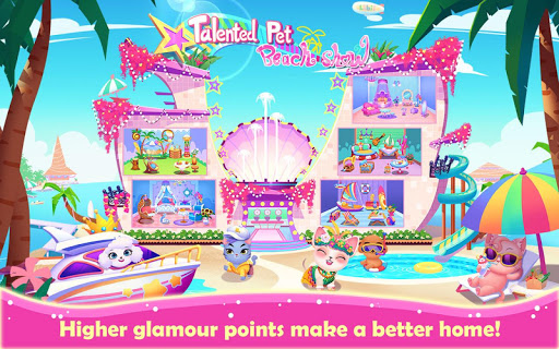 Talented Pet Beach Show 1.0.2 screenshots 5