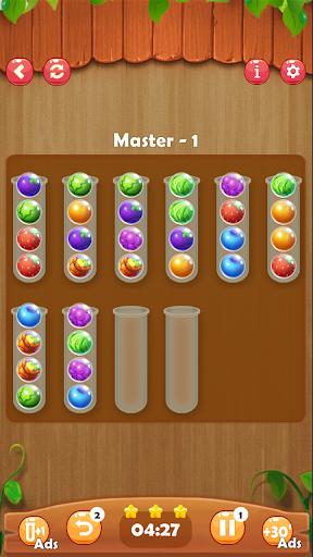 Ball Sort Puzzle: Fruit Color 5.1 screenshots 1