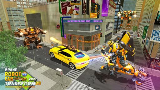 Grand Robot Car Transform 3D Game apkmartins screenshots 1