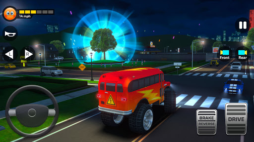 Super High School Bus Simulator und Auto Spiele 3D 2.7 screenshots 7