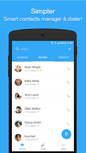 Simpler Caller ID - Contacts and Dialer  Screenshots 3