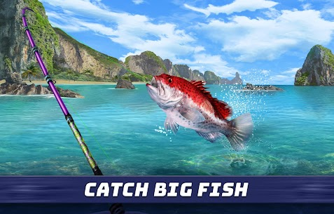 "Download Fishing Clash popular simulation game ""Fishing Battle"" Android + mod 1"