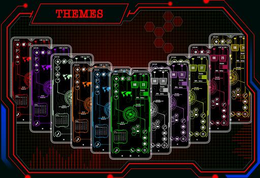 Visionary Launcher 2021 App lock, Hitech Wallpaper 27.0 Screenshots 2