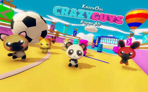 Tiny Crazy Guys Knockout Ultimate Fun  APK MOD (Astuce) screenshots 1