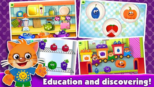 FunnyFood Kindergarten learning games for toddlers 2.4.1.19 Screenshots 19