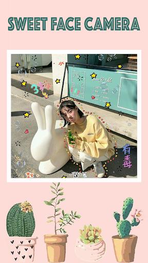 Sweet face camera - live filter selfie photo edit 1.3.0 Screenshots 8