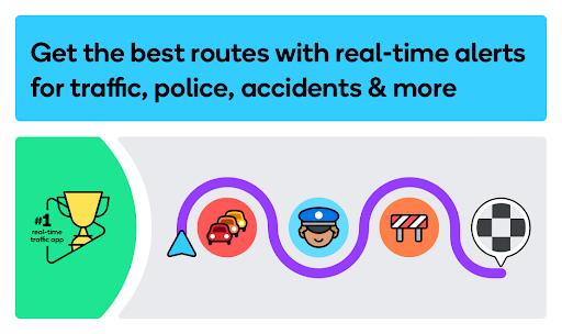 Download APK: Waze – GPS, Maps, Traffic Alerts & Live Navigation v4.75.0.3 [Beta]